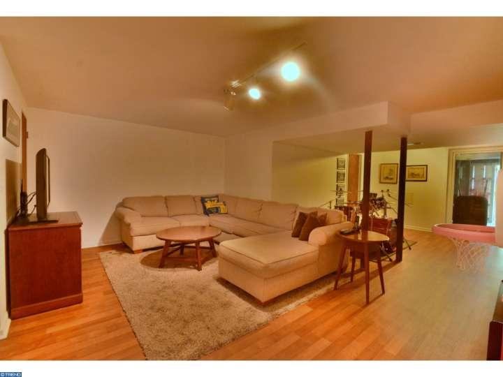 great finished basement at 493 millwrighter way in lansdale