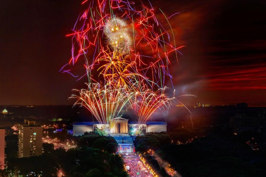 July 4th Festivities in Philadelphia!