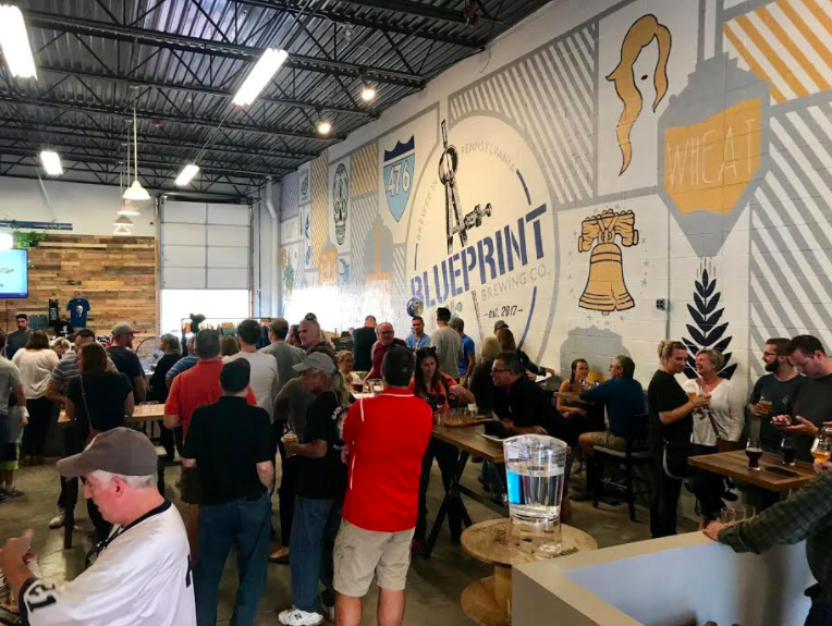 Everyhome agent opens blueprint brewing co in harleysville blueprint brewing malvernweather Choice Image